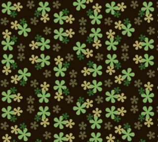 Camouflage Retro Flowers preview