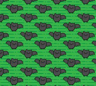 Halloween Cute Bats Green preview