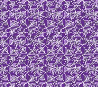 Spooky Spider Web on Purple preview