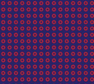 Red Donut Phan Fishman Circles aperçu
