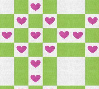 Aperçu de VALENTINES HEART FABRIC