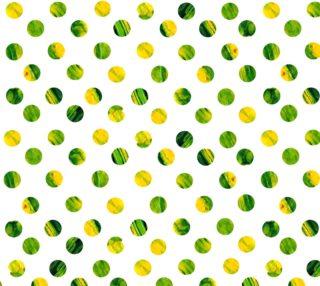 Green polka dots  preview