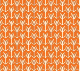 Arrow Stripes Orange and White preview