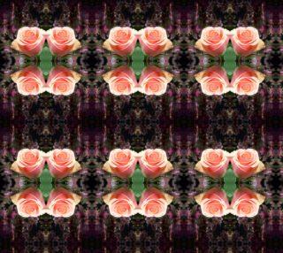 Pink Rose and Dark Velvet Pattern preview