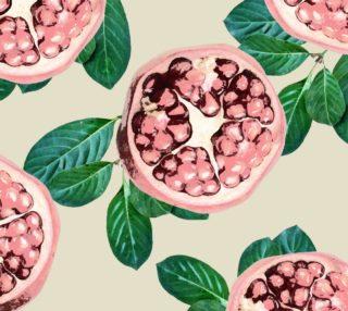 Aperçu de Pomegranate V2 Fabric