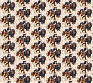 Aperçu de English Toy Spaniels fabric