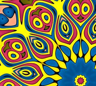 Aperçu de Yellow Flower Mandala