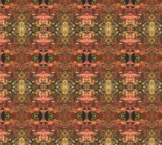Autumn Leaf Oriental Rug Pattern 5 X 6 mirror aperçu