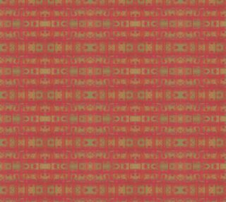 """""""Red weave"""", seamless abstract geometric pattern in ethnic style preview"""