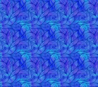 Aperçu de Blue curly waves