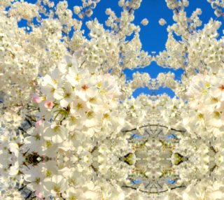 Cherry Blossom Lace Sky S3180 Basic Mirror 25.60 x 25.47 preview