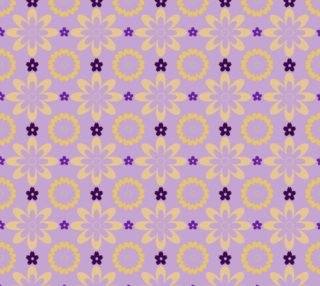 Orange and Purple Flower Clash preview