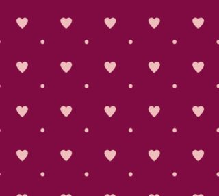 Light Pink Hearts and Polka Dots preview