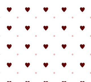 Red Hearts and Pink Polka Dots preview