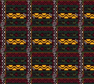 ethnic tribal borders preview