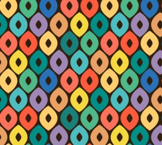 ogee fabric pattern preview