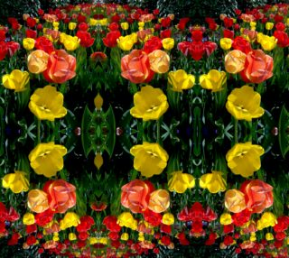 Tulip Festival Bright Large basic mirror 0504 12.73 x 16.96 preview