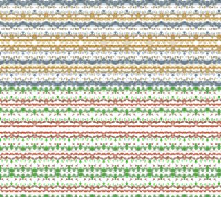 Colorful Boho Stripes Fabric Seamless Pattern preview