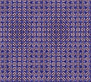 Blue MoltenRain Kaleidoscope repeat 2000dpi preview