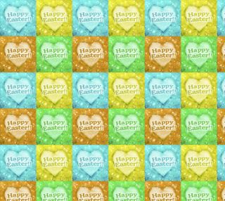 Colorful Happy Easter Theme Pattern preview