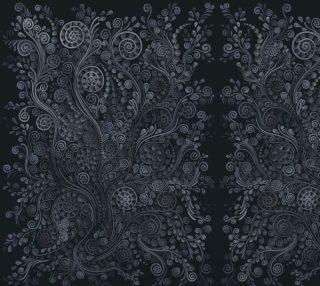 Aperçu de 3d Soft blue Psychedelic Small