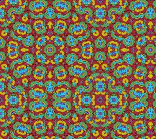Geometric Multicolored Print preview