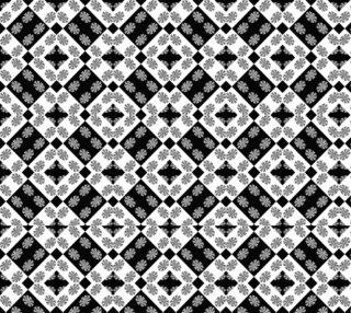 Geometric Modern Baroque Pattern preview