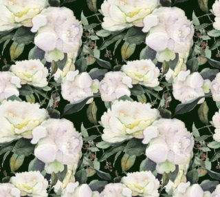 flowers watercolor of floral rose seamless pattern preview