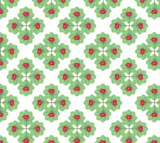 Floral Collage Check Pattern preview