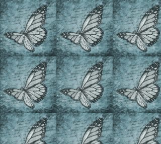 Butterfly on Blue preview