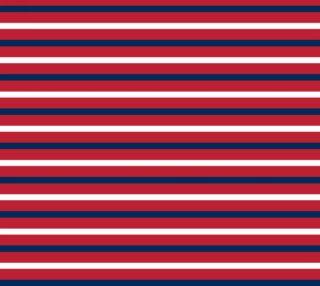 Aperçu de Red White and Blue Stripes - Patriotic