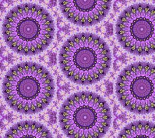 Purple Mandala Fabric preview