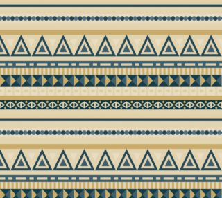 Aperçu de Blue and Tan Tribal
