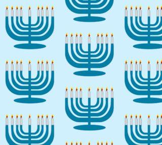 Aperçu de Hanukkah Menorah