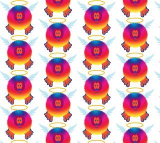 Rainbow Angel Pom Pom Pal preview
