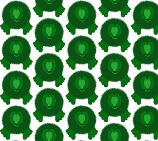 Green Pom Pom Pal preview