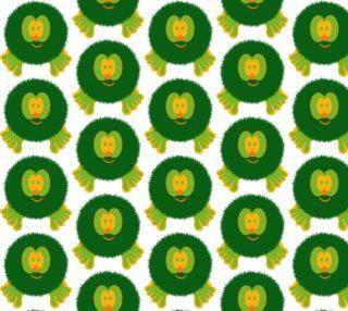 Green and Orange Pom Pom Pal preview