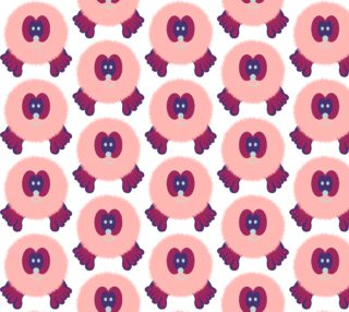Groovy Fuchsia Pom Pom Pal preview