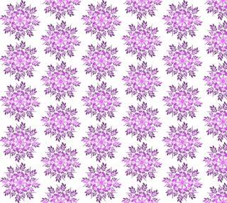 Floral circles purple mandala preview