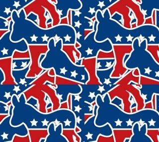 Aperçu de Democrat Fabric - Donkey