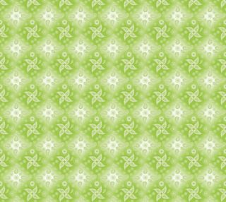 paisley green summer pattern preview