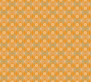 Ethnic geometric orange pattern preview