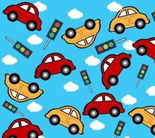 Aperçu de Little Red and Green Cars