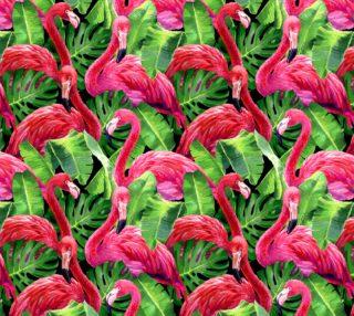 Aperçu de Flamingos (on black)
