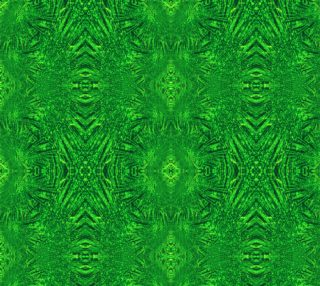 green fractal dynamic pattern. preview