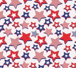 Aperçu de Patriotic 4th of July Stars