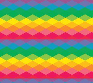 Aperçu de Geometric Abstract - Rainbow
