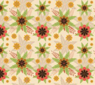 Aperçu de Lovely Retro Inspired Fall Floral