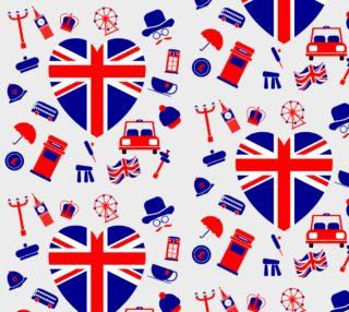 Aperçu de London - White Background