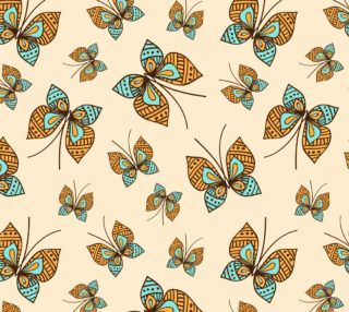 Aperçu de Retro Butterflies
